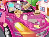 Уборка в Розовой Машине