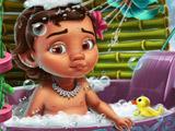 Ванна для Малышки Моаны