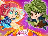 Сражение Мини – Винкс и Трикс