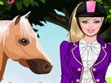 Одевалка Барби и Лошадь