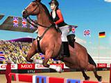 Шоу с Прыжками на Лошади 3Д