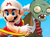 Марио Стреляет Зомби