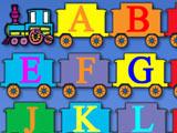 Паровозик с Алфавитом