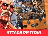 Пазлы Атака Титанов