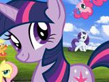 Слайд Пазл с Пони для Детей