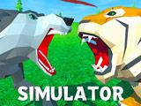 Игра Волк Против Тигра: Симулятор Диких Животных 3Д